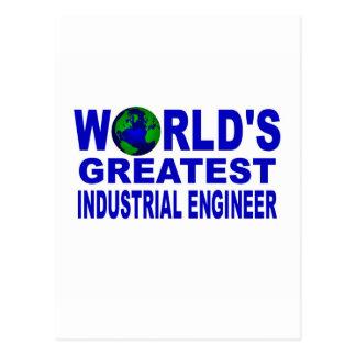 El ingeniero industrial más grande del mundo tarjetas postales