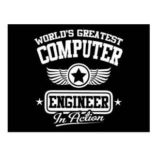 El ingeniero informático más grande del mundo en tarjetas postales