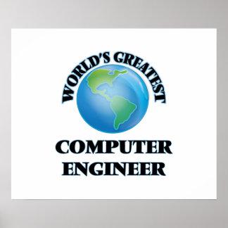 El ingeniero informático más grande del mundo póster
