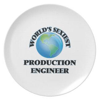 El ingeniero más atractivo de la producción del platos