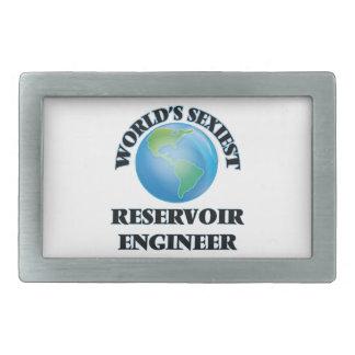 El ingeniero más atractivo del depósito del mundo hebilla cinturón rectangular