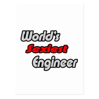 El ingeniero más atractivo del mundo tarjetas postales