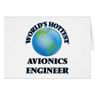 El ingeniero más caliente de la aviónica del mundo tarjetas