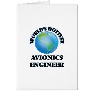 El ingeniero más caliente de la aviónica del mundo felicitacion