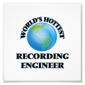 El ingeniero más caliente de la grabación del arte fotografico