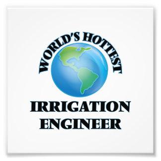El ingeniero más caliente de la irrigación del fotografía