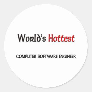 El ingeniero más caliente de los programas pegatina redonda