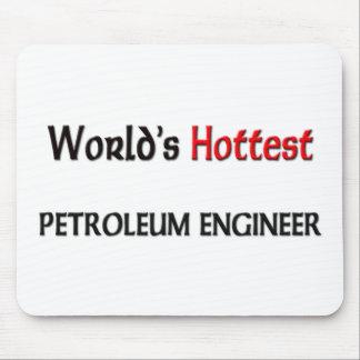 El ingeniero más caliente del petróleo de los mund alfombrilla de ratones