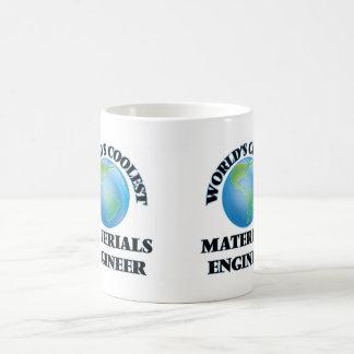 El ingeniero más fresco de los materiales del taza básica blanca