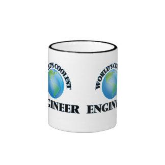 El ingeniero más fresco del mundo taza de dos colores