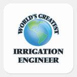 El ingeniero más grande de la irrigación del mundo colcomanias cuadradases