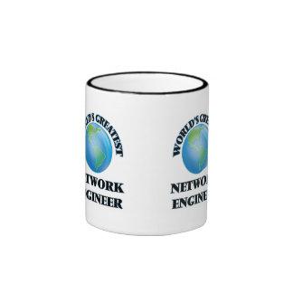 El ingeniero más grande de la red del mundo taza de café