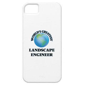 El ingeniero más grande del paisaje del mundo iPhone 5 Case-Mate fundas