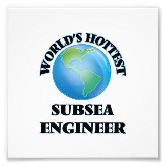 El ingeniero submarino más caliente del mundo impresiones fotográficas