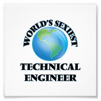 El ingeniero técnico más atractivo del mundo impresión fotográfica