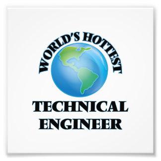 El ingeniero técnico más caliente del mundo impresión fotográfica