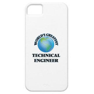 El ingeniero técnico más grande del mundo iPhone 5 Case-Mate protector