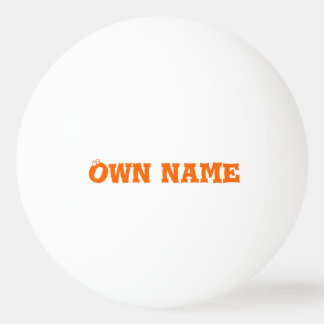 El ingenio de la bola de ping-pong posee nombre pelota de ping pong