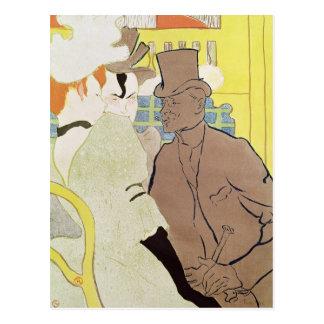 El inglés en el colorete, 1892 postales