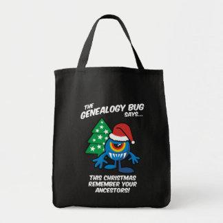 El insecto de la genealogía dice… bolsa de mano