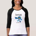 El insecto de la genealogía dice - personalizado camiseta