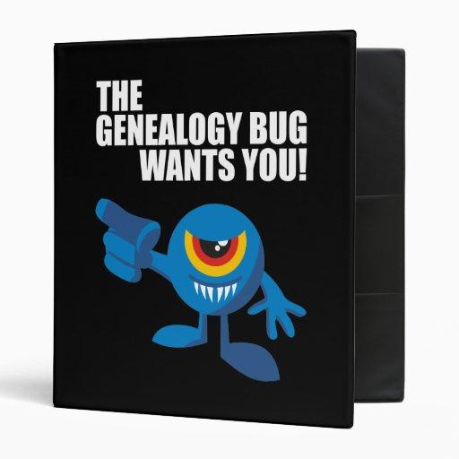 ¡El insecto de la genealogía le quiere!