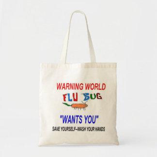 El insecto de la gripe le quiere bolsa