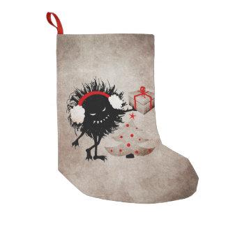 El insecto malvado da el regalo de Navidad Calcetín De Navidad Pequeño