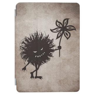 El insecto malvado del vintage da la flor cover de iPad air