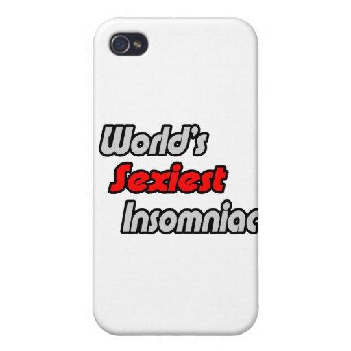 El Insomniac más atractivo del mundo iPhone 4 Cárcasas