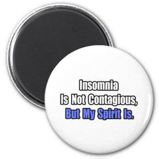 El insomnio no es contagioso imán de nevera