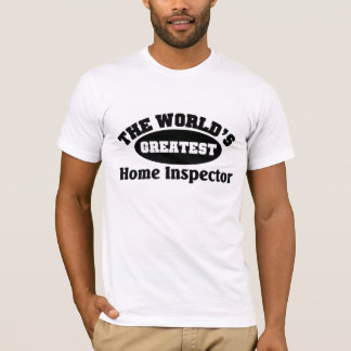 El inspector casero más grande playera