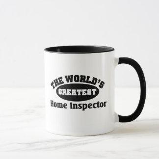 El inspector casero más grande taza