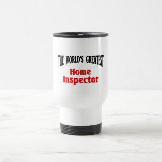 El inspector casero más grande taza de viaje