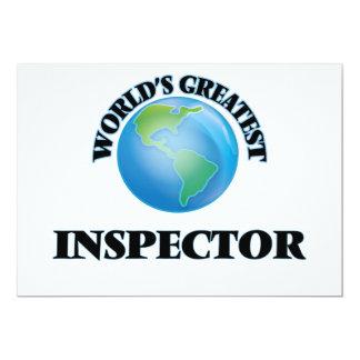 El inspector más grande del mundo comunicado personal