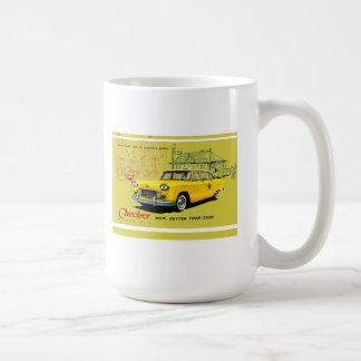 El inspector viaja en automóvili A9 Taza De Café