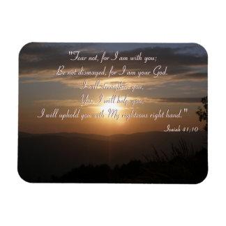 El   inspirado Isaías 41; 10 Imanes Rectangulares