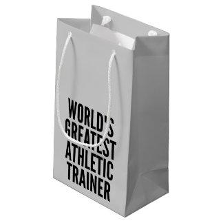 El instructor atlético más grande de los mundos bolsa de regalo pequeña