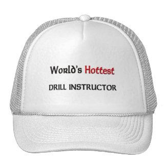 El instructor de taladro más caliente de los mundo gorros bordados