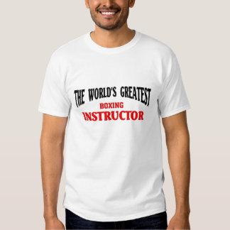 El instructor más grande del boxeo camisas