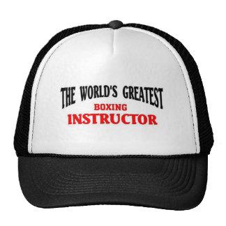 El instructor más grande del boxeo gorra