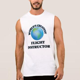 El instructor más grande del vuelo del mundo camisetas sin mangas