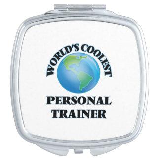 El instructor personal más fresco del mundo espejos para el bolso