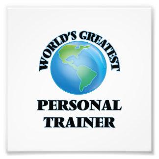 El instructor personal más grande del mundo impresión fotográfica