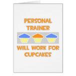 El instructor personal… trabajará para las magdale felicitacion