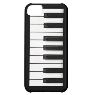 El instrumento del piano cierra el instrumento de  funda para iPhone 5C