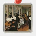 El intercambio del algodón, New Orleans, 1873 Adorno