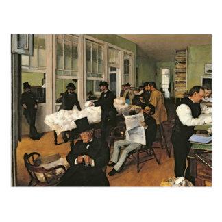 El intercambio del algodón New Orleans 1873 Postales
