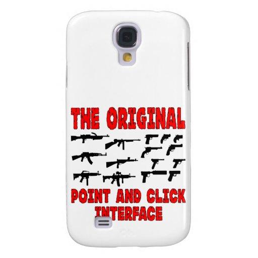 El interfaz original del punto y del tecleo = arma