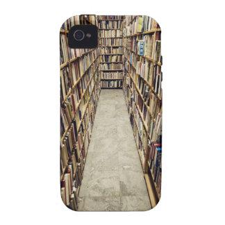 El interior de una librería de segunda mano Suecia Case-Mate iPhone 4 Funda